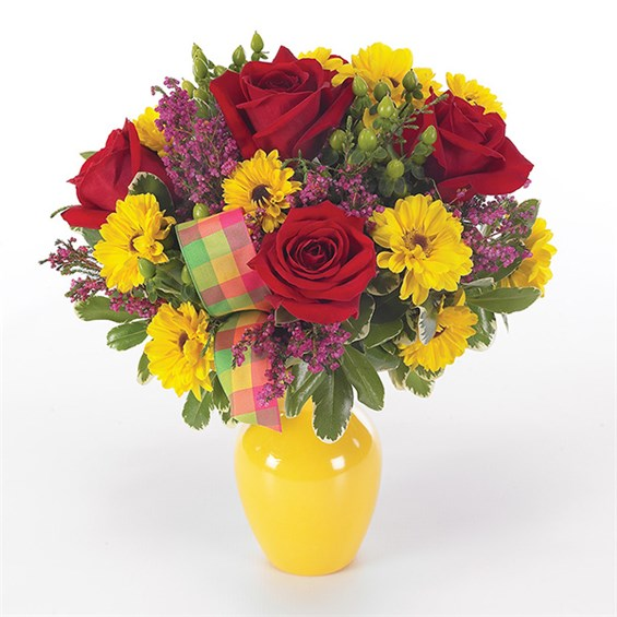 Country Sunshine flower bouquet (BF35-11K)